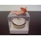 cutii cupcake transparente cu interiorul bazei (set de 12)