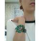 Frauen Türkispfau-Armband (innerer Durchmesser: 6,5 cm)