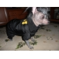 FBI Agent Style Vest with Pants for Dogs (XS-XL, Black)