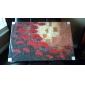 dipinti a mano olio su tela con cornice floreale allungato