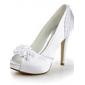 Dame - Pantofi de nunta - Decupați / Tocuri / Platforme - Pantofi cu Toc - Nuntă - Fildeș