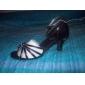 ballroom praktiken latin skor satin övre för kvinnor