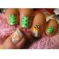 BK Candy Färg Nattlysande Nail Art Polish (7 ml, 12st)