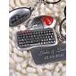 personlig nyckelring - tangentbord och mus (uppsättning av 6 par)