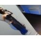 Serata formale / Ballo militare Vestito - Sensuale A tubino Monospalla Lungo / Strascico Watteau Chiffon conPerline / Drappeggio di lato