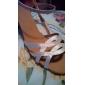 sangle femmes personnalisées Arc latin satin / chaussures de danse de salon de performance avec boucle (plus de couleurs)