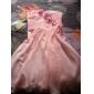TS Couture® Cocktail Party / Graduation Dress - White Plus Sizes / Petite A-line / Princess Strapless / Sweetheart Knee-length Chiffon