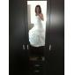 NEEA - שמלת חתונה מ- סאטן ו- תחרה עם כורכת