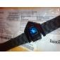 Bărbați Ceas Sport Ceas digital Ceas de Mână Piloane de Menținut Carnea LED LCD Calendar Cronograf alarmă Silicon BandăNegru Alb Albastru