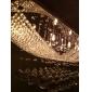 lysekrone moderne luksus krystal pære medfølger 8 lys