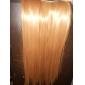 klipp i syntetiska raka hårförlängningar med 5 clips - 6 färger tillgängliga