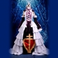 cosplay kostume inspireret af Tsubasa: reservoir krønike sakura dronning spade gotisk kjole