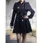 Lady Swing Lapel Coat