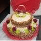 Tortenfiguren & Dekoration individualisiert Klassisches Paar / Herzen Kristall Brautparty / Jubliläum / HochzeitGarten Thema /