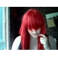 Peruci de Cosplay Basme Erza Scarlet Roșu Lung Anime Peruci de Cosplay 80 CM Fibră Rezistentă la Căldură Feminin