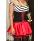 Super Sexy Womens Pirate Halloween Costume(2Pieces)