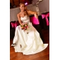 FLOSSIE - Kleid für die Braut aus Satin