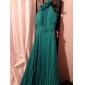 hemkomst prom / formell aftonklänning - ruby plus storlekar hög hals golv längd chiffong