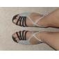 glittrande glitter / velvet övre dansskor balsal latinska skor för kvinnor mer färger