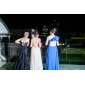 Formal Evening/Prom/Military Ball Dress - Royal Blue Plus Sizes A-line/Princess One Shoulder Floor-length Chiffon