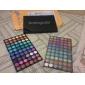 120 barev profesionální oslnivé matné a lesk 3v1 oční stíny make-up kosmetické palety