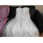 웨딩 드레스 - 아이보리(색상은 모니터에 따라 다를 수 있음) A 라인/프린세스 쿼트 트레인 스윗하트 튤 임산부