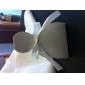 la novia clásica y la caja a favor del novio con cinta de organza (juego de 12)