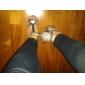 Scarpe da ballo - Non personalizzabile - Donna - Tipo di scarpe / Latinoamericano / Salsa - Tacco a rocchetto - Satin - Nero