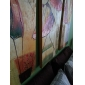olieverfschilderijen set van 3 moderne abstracte meisjes dansen met de hand beschilderd doek klaar om op te hangen