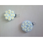 G4 2W 12x5630SMD 220LM 2700K lämmin valkoinen LED-spottilamppu (12V)