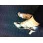 Cuero superior de baile de salón latino zapatos para mujeres diversos colores