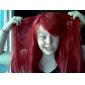 Perruques de Cosplay Fairy Tail Erza Scarlet Rouge Long Anime Perruques de Cosplay 80 CM Fibre résistante à la chaleur Féminin
