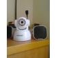 Wanscam® IP-övervakningskamera med vinkelkontroll och rörelsedetektor (IR-mörkerseende, kostnadsfri DDNS)
