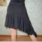 Dancewear Polyester Latin Dance Skirt For Ladies More Colors
