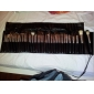 Professional 40 Pcs Wool Makeup Brush Set with Free Black Case