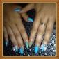 yemannvyou®5pcs 3d legering nageldekorationer diamant nr.6 (blandade färger)