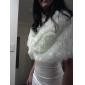 fuskpäls speciellt tillfälle / bröllop sjal