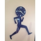 Sports-Running People Acrylic Wall Clock