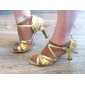 muokata suorituskyvyn tanssikengät keinonahka / paillette ylempi latin kenkiä naisille