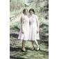 GALYA - Robe pour Mariage et de Demoiselle d'Honneur Mousseline