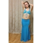 Women Dancewear Chinlon With Appliques Performance Belly Dance Skirt More Colors Available