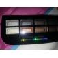 La palette de 8 couleurs d'ombre des yeux avec un pinceau libre (6 #)