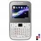 Celular C3 com Teclado QWERTY (2 polegadas, SIM Duplo, Câmera, JAVA, TV, FM, Quadband)
