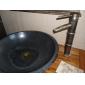 antik messing pop-up afløb for håndvask / vask (0698 -1004)