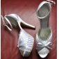 Satin Stiletto Heel Platform  With RufflesWedding Shoes(More Colors)