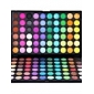 120 kleuren professionele matte en glinsterende 3-in-1 oogschaduw make-up cosmeticapalet