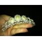 Licht Metaal/Imitatie Parel Vrouwen Helm Bruiloft/Speciale gelegenheden Tiara's Bruiloft/Speciale gelegenheden