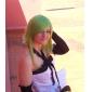 Perruques de Cosplay Vocaloid Gumi Vert Moyen Anime/Jeux Vidéo Perruques de Cosplay 45 CM Fibre résistante à la chaleur Féminin