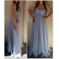 Prom / Formal Evening / Military Ball Dress - Elegant Plus Size / Petite A-line / Princess Strapless / Sweetheart Floor-length Chiffon