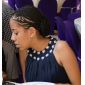 ELISKA - Robe pour Mariage et de Demoiselle d'Honneur Mousseline